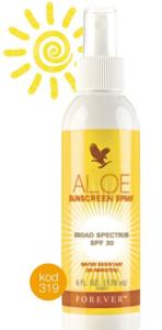 sunscrean spray